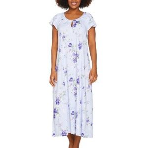 Carole Hochman Ultra Jersey Blooming Meadow Gown